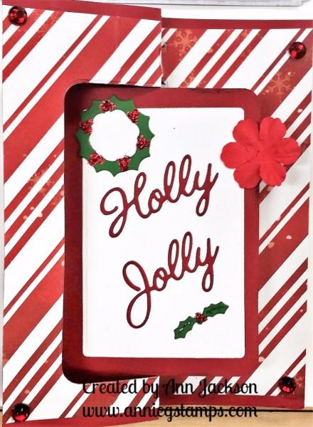 Reindeer Flip Card Front