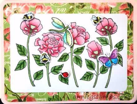 Five Roses Card