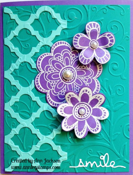 Smile Floral Card