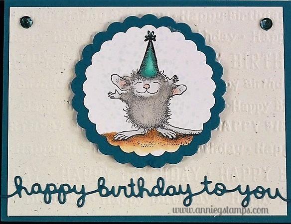 HM Happy Birthday Card