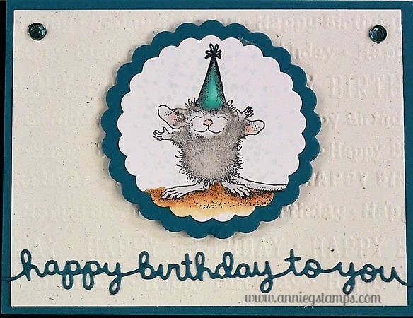HM Happy Birthday Card