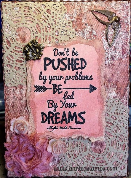 Led by Your Dreams Canvas