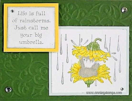 Rain Flower Card
