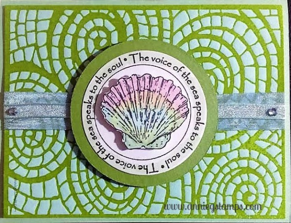 Mosaic Shell Card