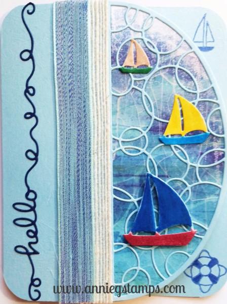 Sailing Hello Card