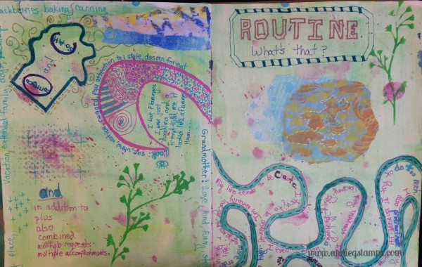 Art Journal Club - Order & Chaos Pages