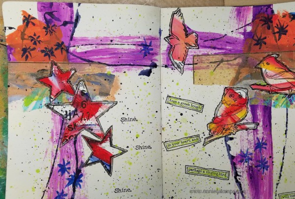 Art Journal Club - Dina Wakley Style