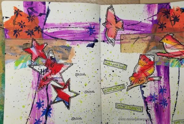 Art Journal Club - Dina Wakley Style