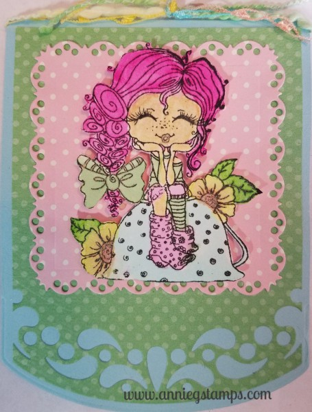 Tea Cup Tilly Card