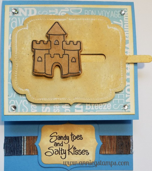 Sandcastle Card