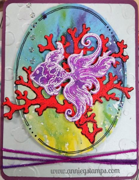 Fish & Coral Card