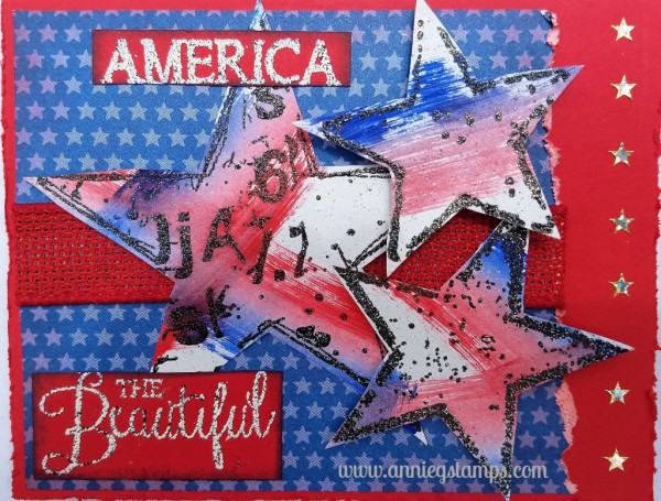 America the Beautiful Card