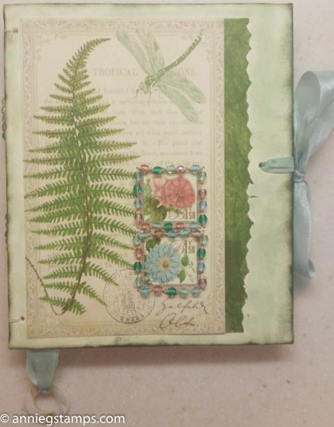 Fern Beaded Book