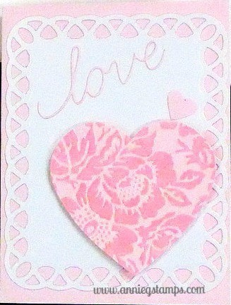 Vines of Passion Love Card