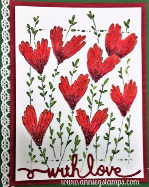 Applause Hearts Card