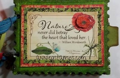 Nature Sketchbook  Mini Album
