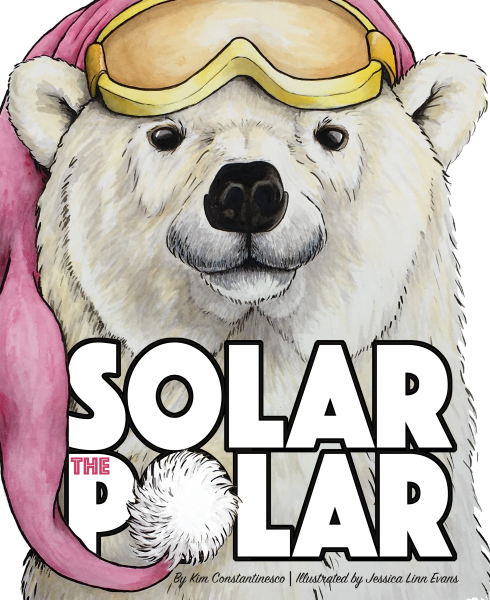 Solar the Polar is a fun winter romp about a snowboarding polar bear and a skier girl who is missing her legs below the knee. This tale gives a gentle nod to Arctic warming, snow safety, and enjoying a life with a disability. Winter is no time to hibernate, so go for a ride with the polar inside.