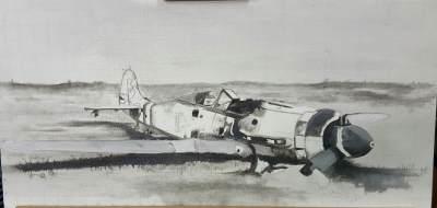 BROKENEAGLES 5 :FW 190 D-9 RHEIN MAIN AIRFIELD FRANKFURT 1945-46
