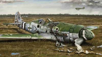 BROKENEAGLES 5 :FW 190 D-9 - Digital work completion