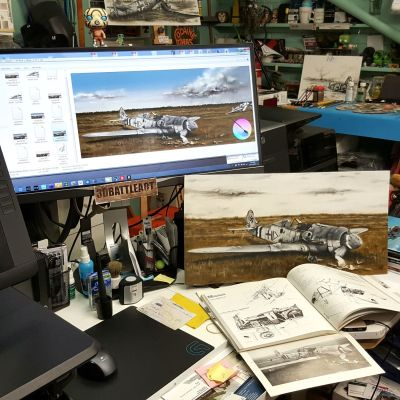 BROKENEAGLES 5 :FW 190 D-9 - Let the digital stuff begin