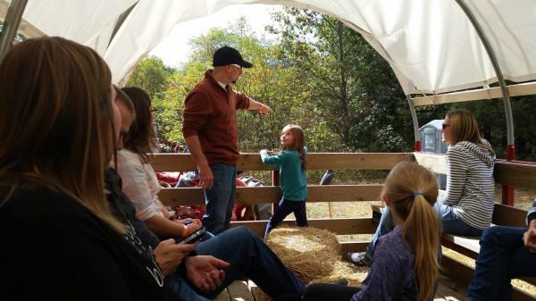 Hayride at Harvest Moon Acres