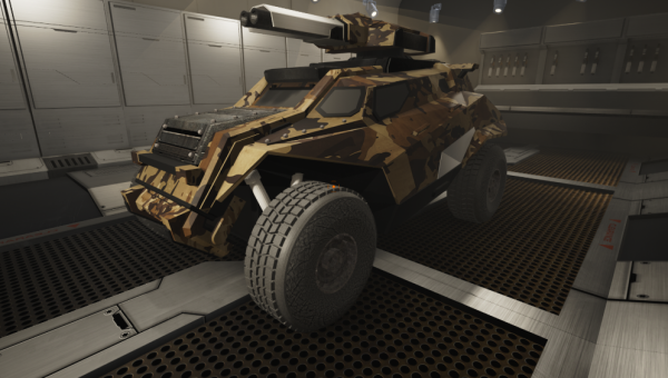 Military Vehicle in Unreal Engine 4