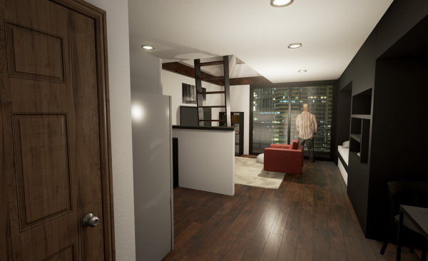 Smart Apartment - Night 1