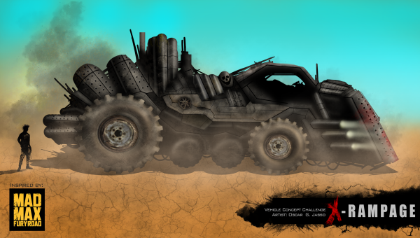 X-Rampage (Mad Max concept)