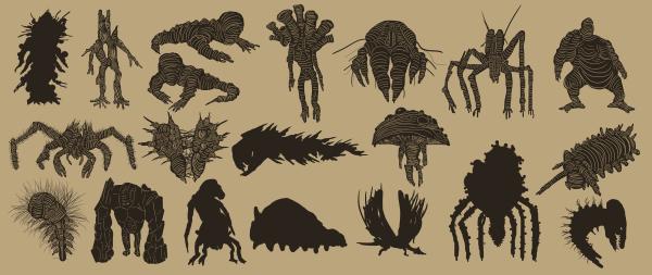 Creature Sketching