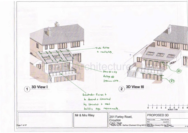 Two Storey Rear Extension, Farley Road, South Croydon