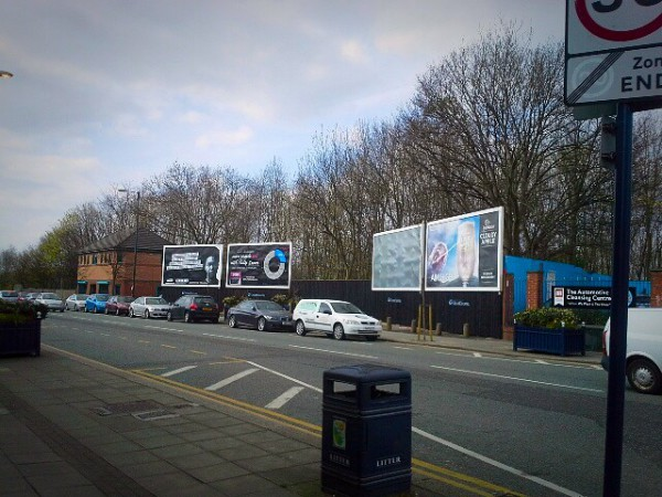 Clear Channel builds - Denton, Greater Manchester