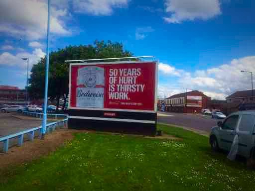 Primesight panel in Middlesborough