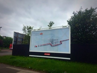 Primesight panel in Newcastle