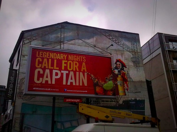Captain Morgan Campaign- 2011