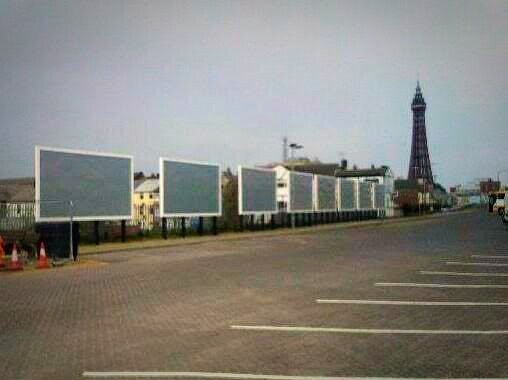 New installations - Blackpool Promenade