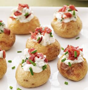Stuffed potato (V)