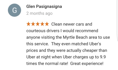 taxi myrtle beach