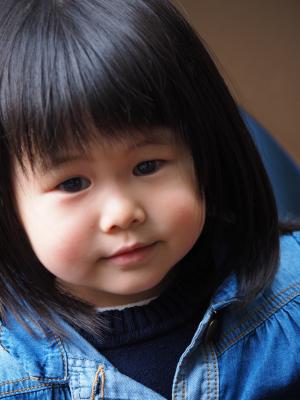 Little Girl in Hong Kong