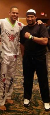 Karate Champion & Kickboxer Raymond Daniels