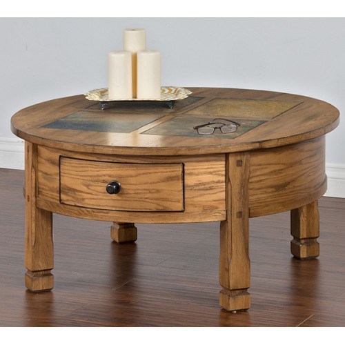 Sedona Round Cocktail Table