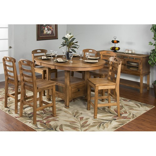 Sedona Oval Butterfly Gathering Table