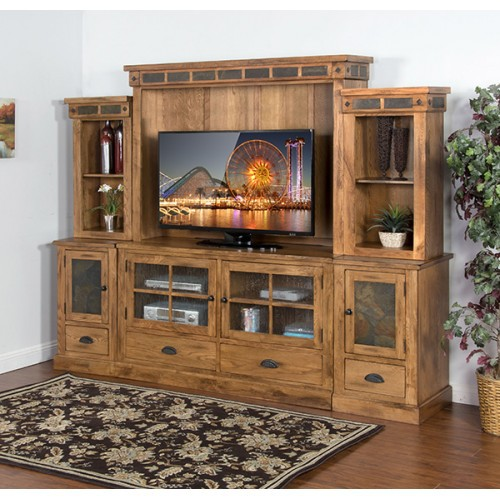 Sedona Entertainment Wall, 6 peice