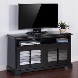 """Black 54"""" TV Console"""