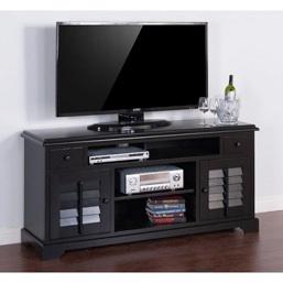 """Black 64"""" TV Console"""