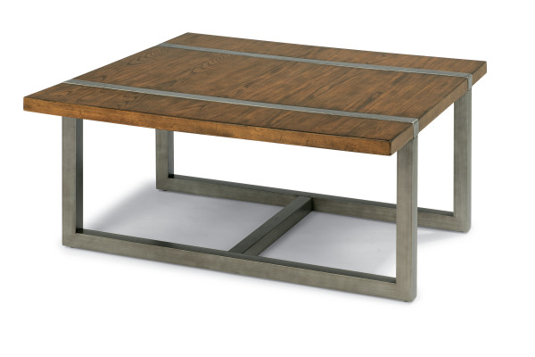 Trestle Square Cocktail Table