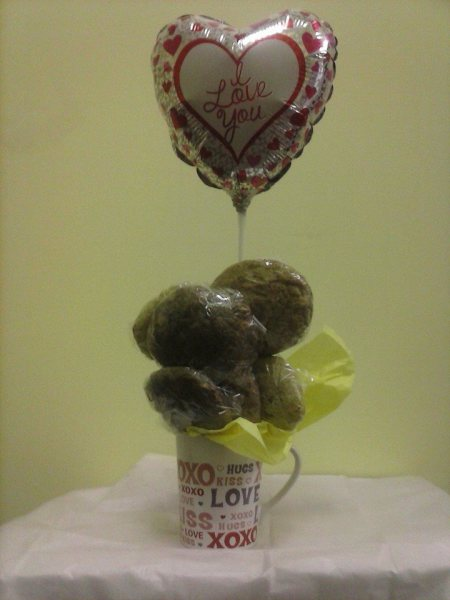 Cookie Mugs (V-day shown)