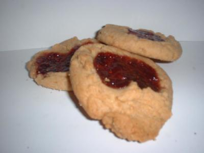 Peanut Butter and Jelly Hearts