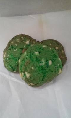 Green Velvet White Chocolate