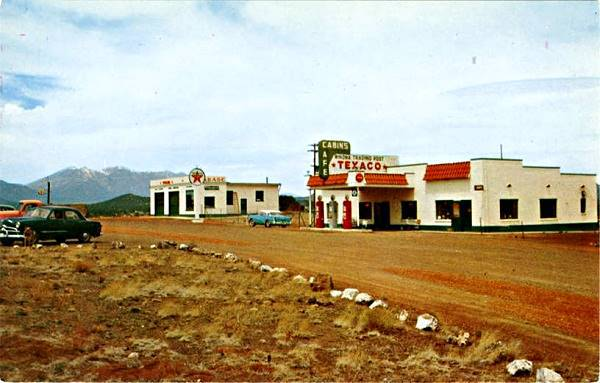 Texaco Gas Station 1956