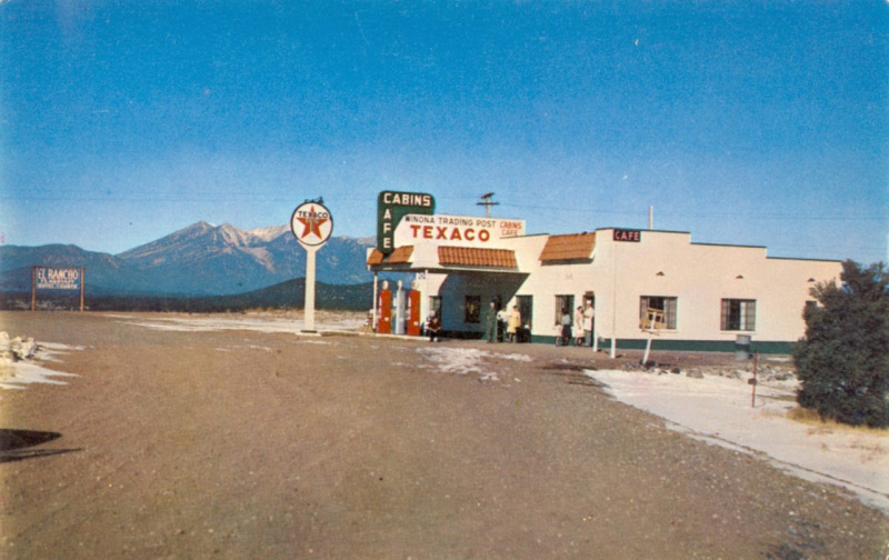 Texaco Gas Station 1946